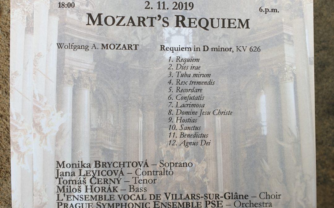 Concert 2019 Requiem Mozart